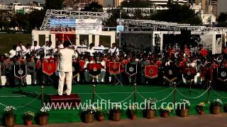 Celebrating 150th anniversary of Indian police band at Central park