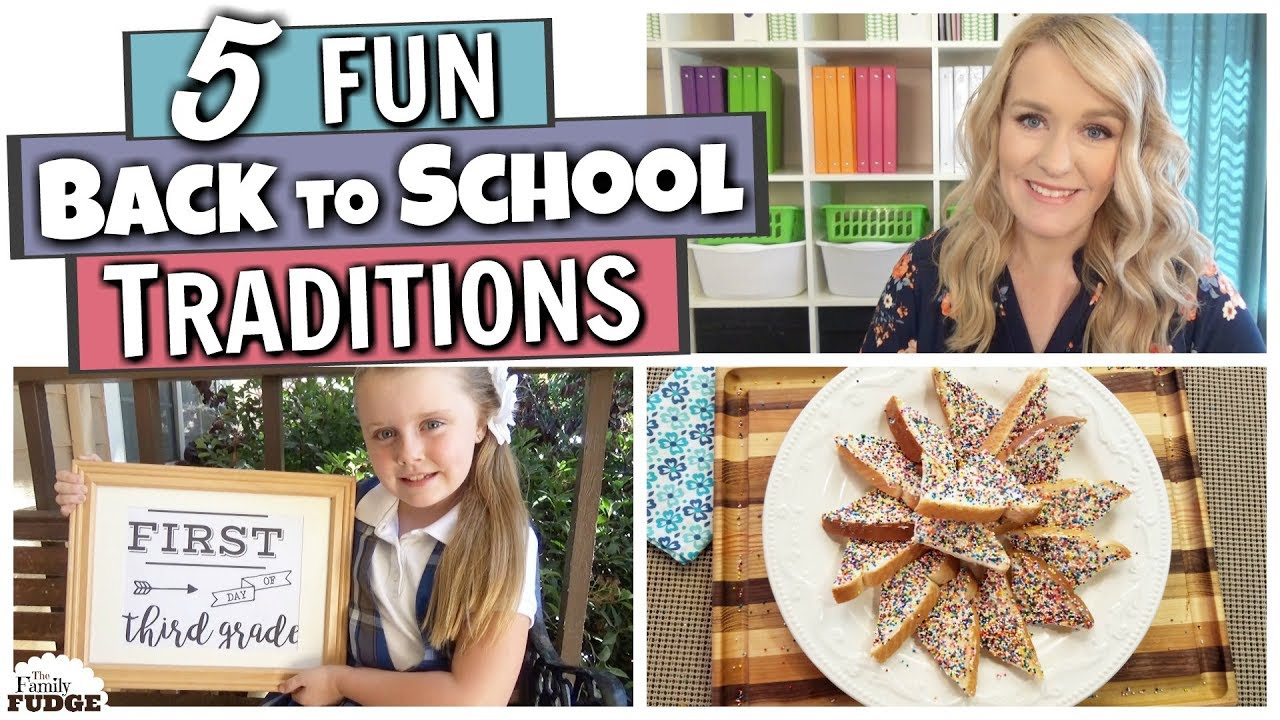 5 FUN FIRST DAY OF SCHOOL TRADITIONS ||1st Day of School Activities for Kids