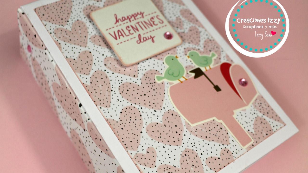 Tutorial mini album scrapbook para san valentin - Album para san valentin ...