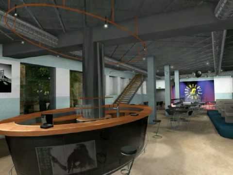 The Studenthouse in Copenhagen in 3D