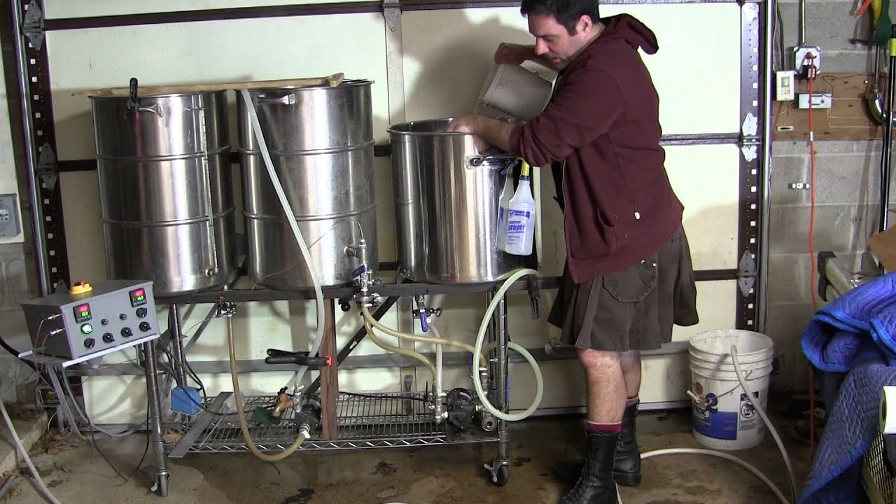 Brewing Up An American Pale Ale All Grain Youtube