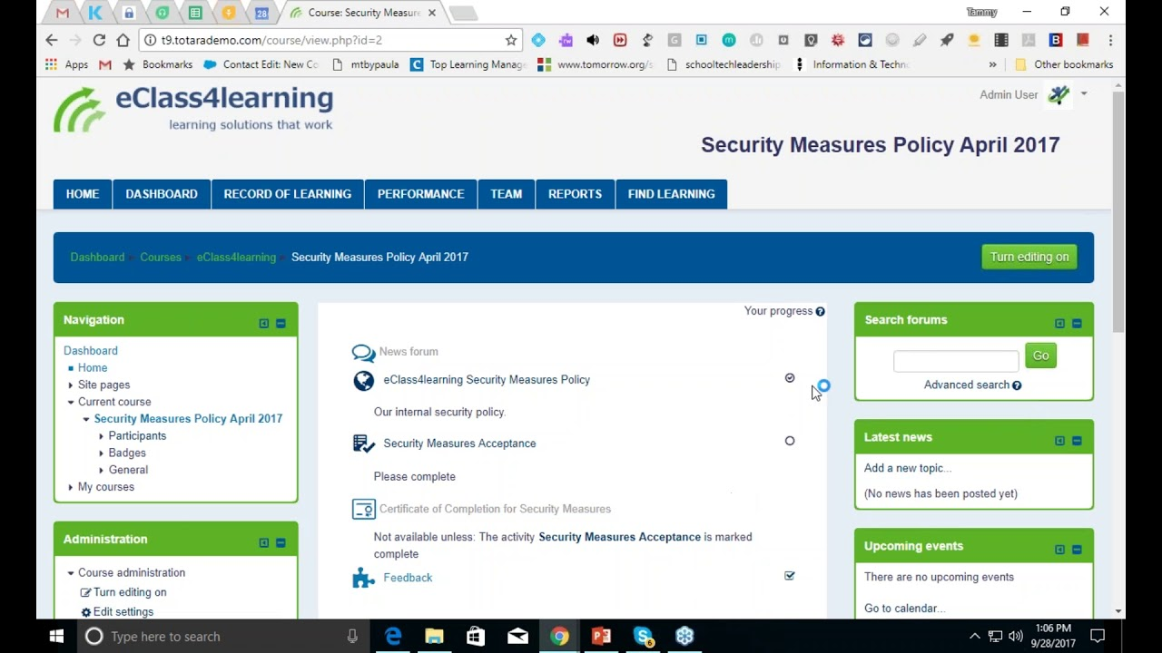 Totara basics managing certifications youtube totara basics managing certifications 1betcityfo Choice Image
