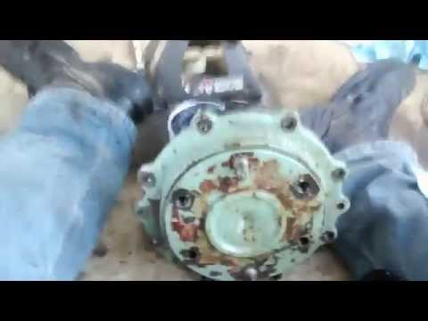 Yanmar Tractor Four Wheel Drive Hub Leak Fix