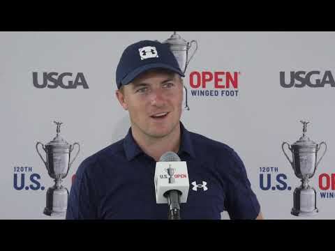 Jordan Spieth Thursday Flash Interview 2020 US Open - Round 1