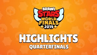Brawl Stars World Finals 2019 - Quarterfinals Highlights