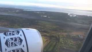 Landing in Fiji Nadi International Airport