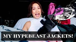 My Hypebeast Jacket Collection + Try-On Haul | Laureen Uy