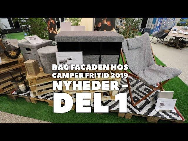 Bag facaden hos Camper Fritid -  2019 nyheder - del 1