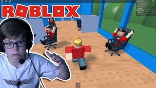 ETHAN GAMER ESCAPES ROBLOX HQ!!