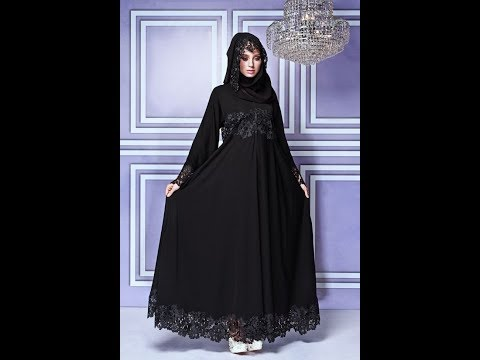 Latest Saudi Arabia and Dubai Abaya Designs 2017