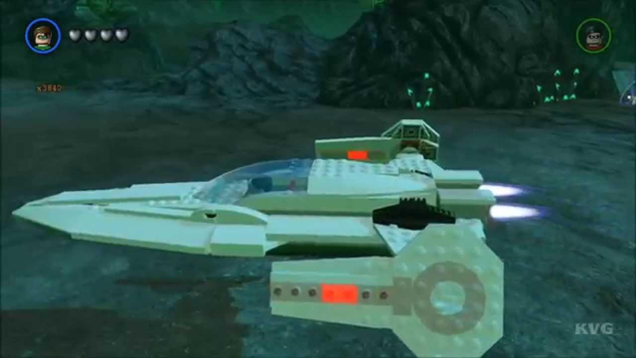 LEGO Batman 3: Beyond Gotham - Javelin Free Roam Gameplay ...