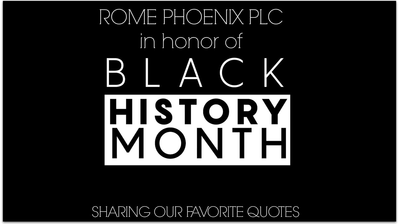 Black History Month Quotes Students' Favorite Quotes To Celebrate Black History Month  Youtube