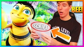 Reading The Entire Bee Movie Script But Everytime They Say