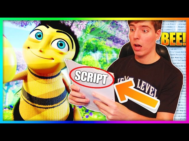 Reading The Entire Bee Movie Script But Everytime They Say Bee I Repeat All the Previous Bees