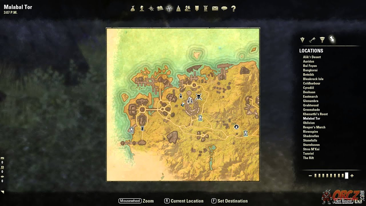 Malabal Tor Treasure Map I Location - The Elder Scrolls Online on elder scrolls online map, grahtwood map, greenshade map, reapers march map,