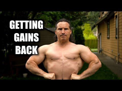 How LONG to GET Your Muscle GAINS BACK