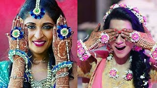 Latest Engagement Flower Jewellery//Trendy engagement jewellery//New Fashion Trend 2018-2019