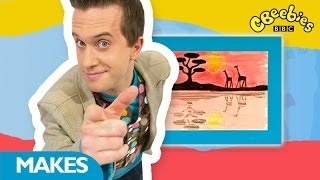 CBeebies: Mister Maker - Reflection Wax Picture