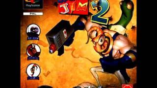 Earthworm Jim 2 (PS1) Soundtrack - Title Screen