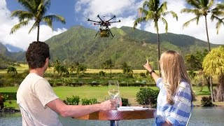 Farm to Table via Drone in Maui, Hawaii | behind the scenes