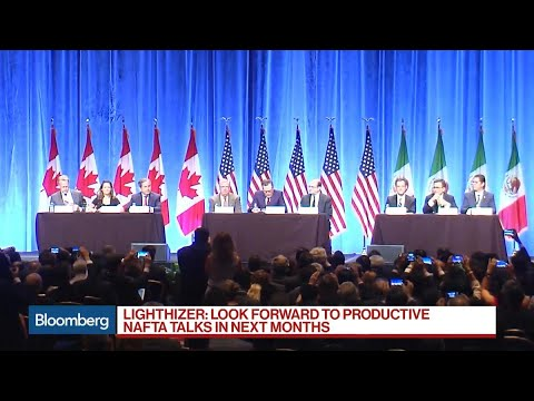 U.S. Seeks Major Trade Overhaul as Nafta Talks Begin