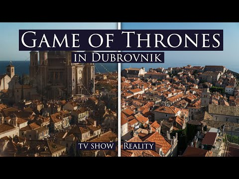 ALL Game Of Thrones SCENES In DUBROVNIK (Guide)