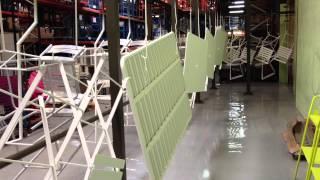 Fermob Bistro Furniture- Factory Painting Production Line- Thegardengates.com