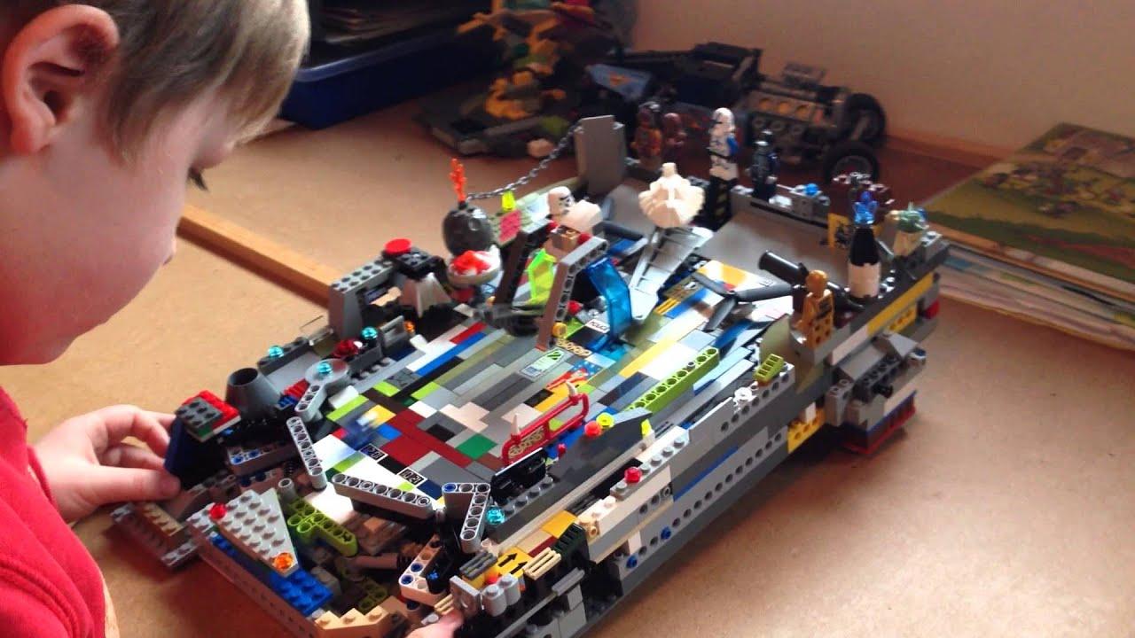 Lego Flipper Kreativ Selbstgebaut Youtube