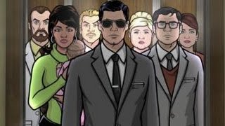 "Archer After Show Season 6 Episode 1 ""Holdout"" 