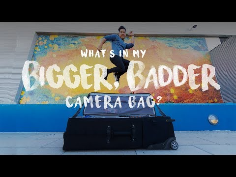 What's in my BIGGER, BADDER Camera Bag? (ft. ThinkTank Production Manager 40)