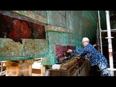 Restoring the USS Constitution