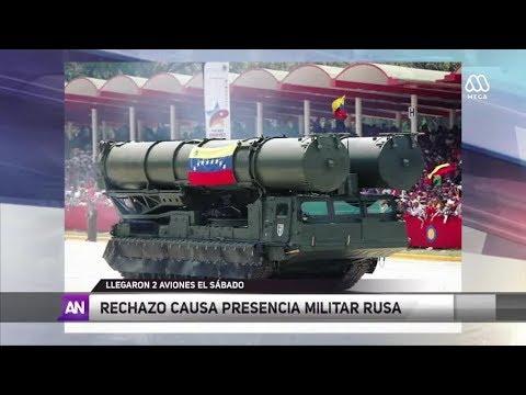 Rechazo a presencia militar rusa en Venezuela