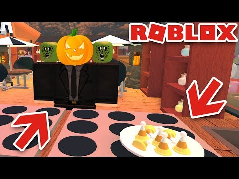 HALLOWEEN CHEF, DECORATIONS AND FOOD in ROBLOX RESTAURANT TYCOON