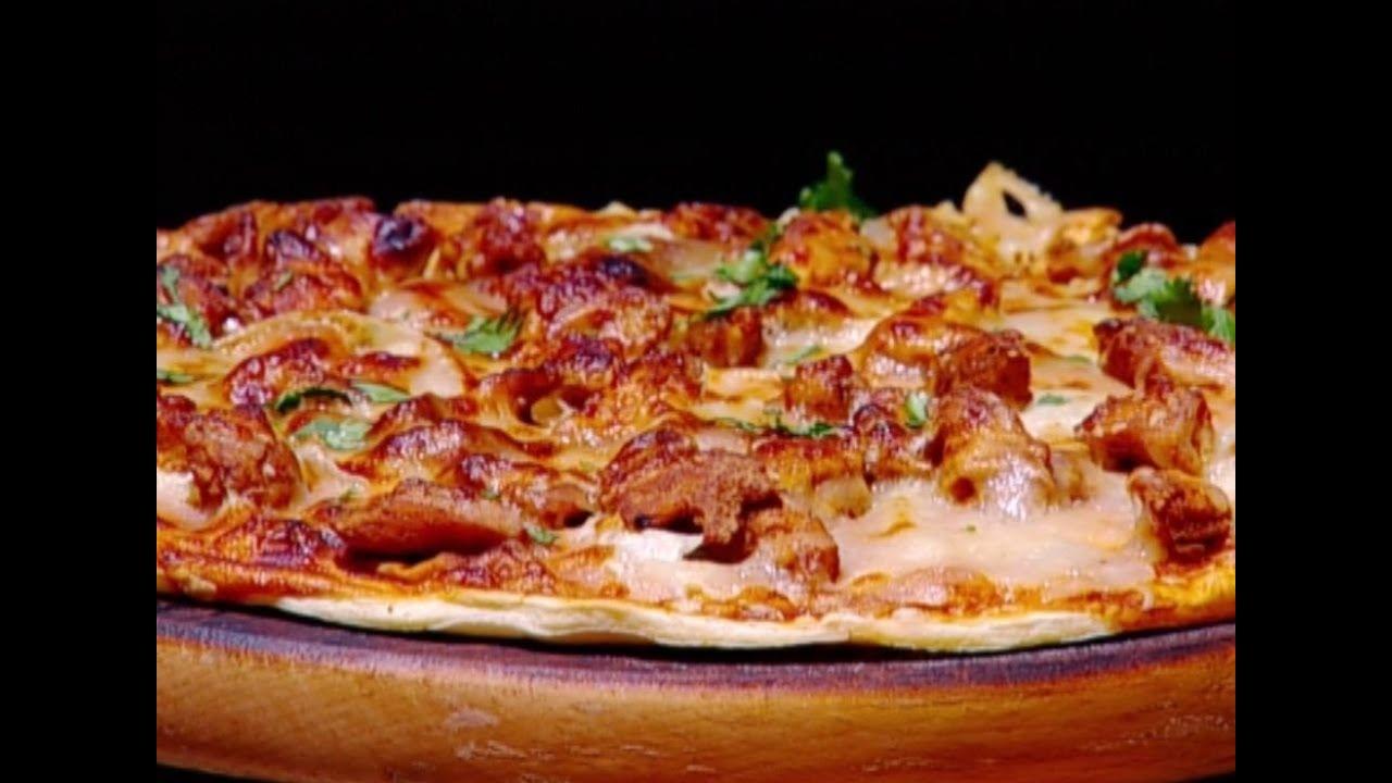 بيتزا الدجاج بالباربكيو ايمان عماري Youtube