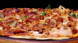 بيتزا الدجاج بالباربكيو - ايمان عماري