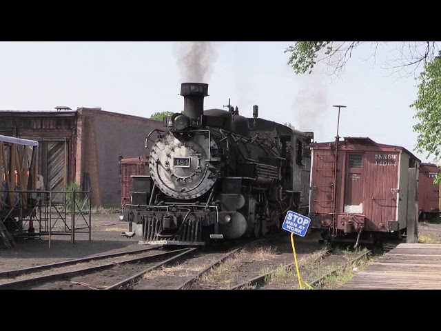 Cumbres & Toltec #484 - Like a Beating Heart