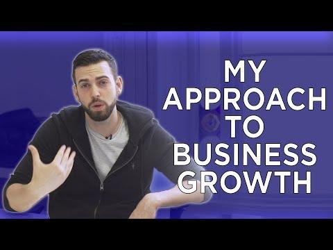 I BELIEVE BUSINESSES GROW TWO WAYS...