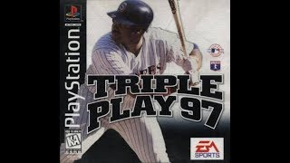 Triple Play 97 (PlayStation)  Los Angeles Dodgers vs. Cleveland Indians