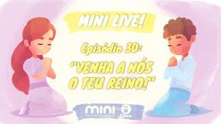 MINI LIVE IPNONLINE Episódio 30: Venha a Nós o Teu Reino (Lic. Davi Medeiros) - 16/07/2020