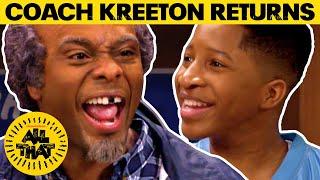 Coach Kreeton Makes His RETURN! 🏀 | All That