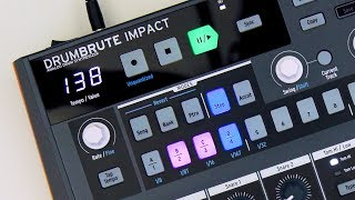 DrumBrute Impact: Pros, cons, comparison to original DrumBrute