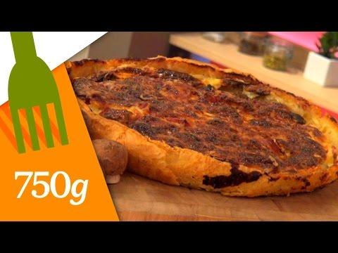 recette-de-quiche-au-jambon---750g