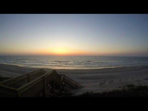 Corolla, North Carolina Full-length Sunrise Over the Ocean (Outer Banks)