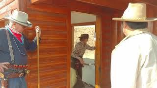 SASS Winter Range 2018 3 gun CowGirl action shooting Fort Sinclair UGOA