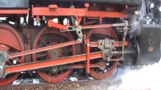 Steam Train starting up in Dordrecht,Holland.