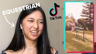 Pro Horseback Riders React To Horse Girl TikToks