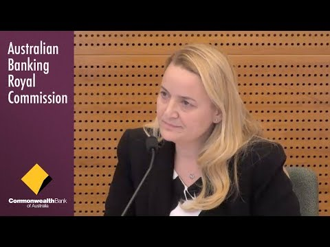 CommBank's Head of Private Banking testifies at the Banking Royal Commission