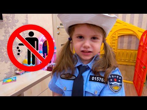 Policeman и Mama нарушитель. Обычный день полицейского. Eva Bravo Play