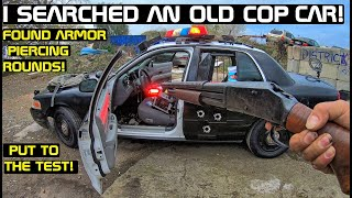 Searching Police Cars Found Armor Piercing rounds! Put to the test! Crown Rick Auto