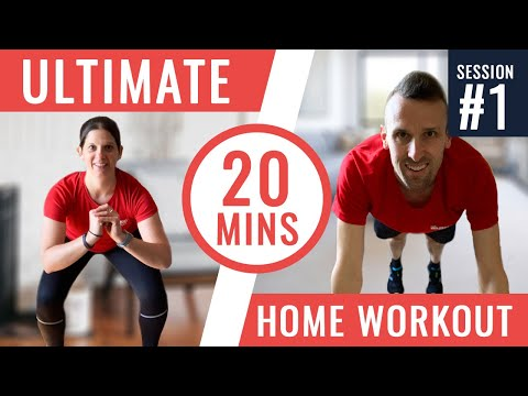 Home Workout Routine for Runners | Follow Along Session 1 | No Equipment Strength Training